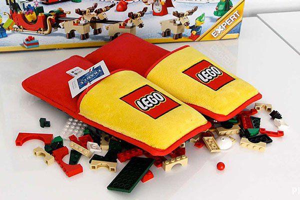 Anti Lego Slippers lifesaving product from legos