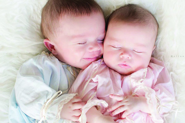 Tyson and Annie Siblings Born 6 Weeks Apart Family infertility Journey