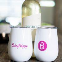 Babypalooza wine tumblers