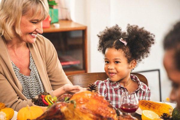 Making Thanksgiving Kids Table Fun