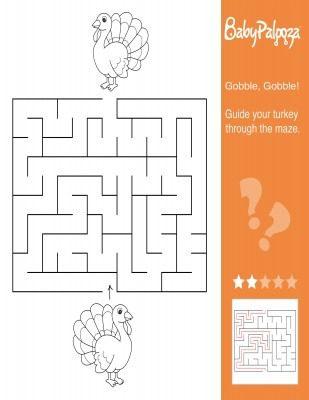 Thanksgiving Maze Printable 2 (2)
