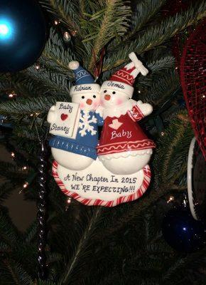 Jemia Storey Christmas ornament
