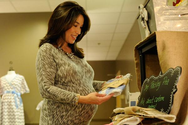 nurse at st. vincents monogram maternity