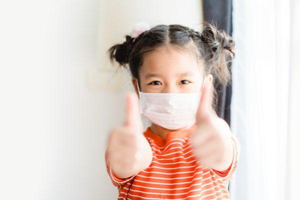What kind of face masks should kid wear