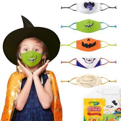 Crayola Halloween face masks