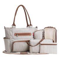 SOHO Grand Central Diaper Bag Set