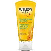Weleda shampoo and body wash