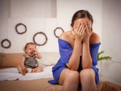 New Mom with Postpartum Rage Symptoms